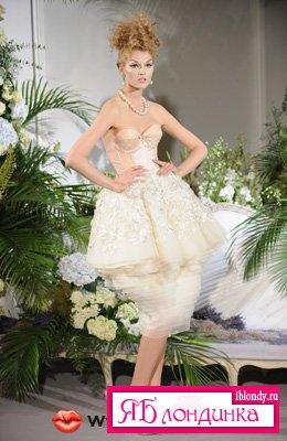 Показ Dior Haute Couture осень-зима 2009-2010