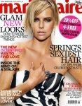 Шарлиз Терон (Charlize Theron) для Marie Claire UK Май 2009