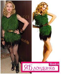 Madonna против Liza Mikhalkova