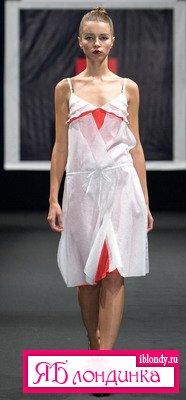 NATASHA DRIGANT. «Красная линия» сезона весна-лето 2009.